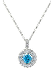 Montana Silversmiths Women's Hot Summer Days Halo Necklace , , hi-res