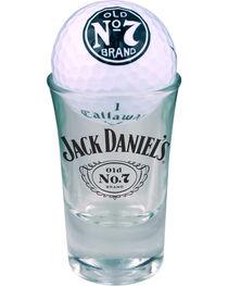Jack Daniel's Set of 2 Callaway Warbird Golf Balls & Shot Glasses, Multi, hi-res