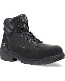 "Timberland Pro Men's TITAN 6"" Work Boots, Black, hi-res"