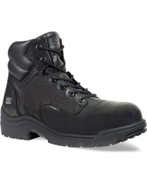 "Timberland Pro Men's TITAN 6"" Work Boots, Black, hi-res"
