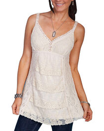 Scully Women's Lace Camisole Top, , hi-res
