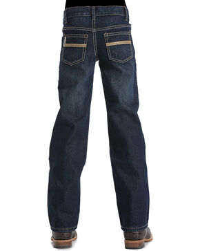 Cinch Boys' White Label Denim Jeans, Indigo, hi-res