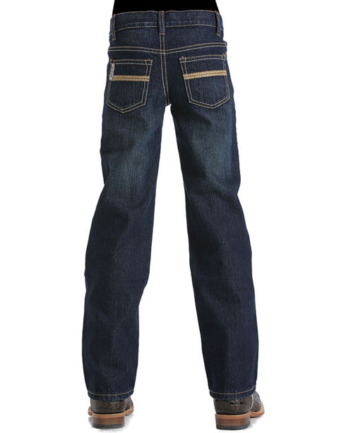 Cinch Boys' White Label Denim Jeans, Indigo, hi-res