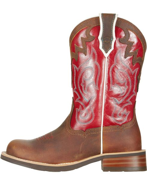 Ariat Women's Unbridled Western Boots, Brown, hi-res