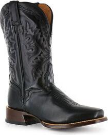 El Dorado Men's Cutter Toe Vanquished Calf Western Boots, , hi-res