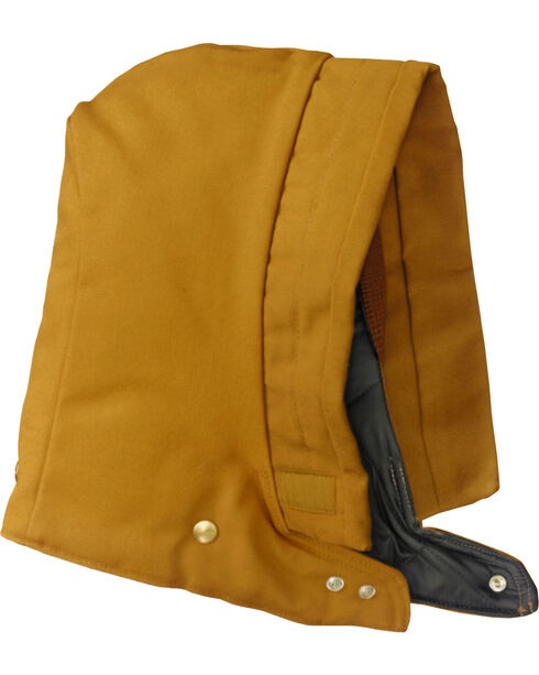Carhartt Men's Arctic-Quilt Lined Duck Hood, Brown, hi-res