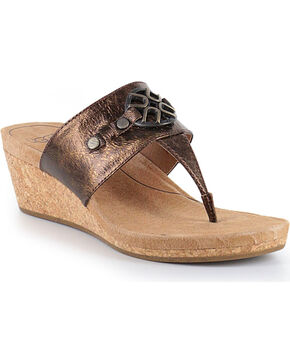 UGG Women's Brown Briella Sandals , Brown, hi-res