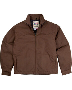 Schaefer Outfitter Fenceline Arena Jacket, Brown, hi-res