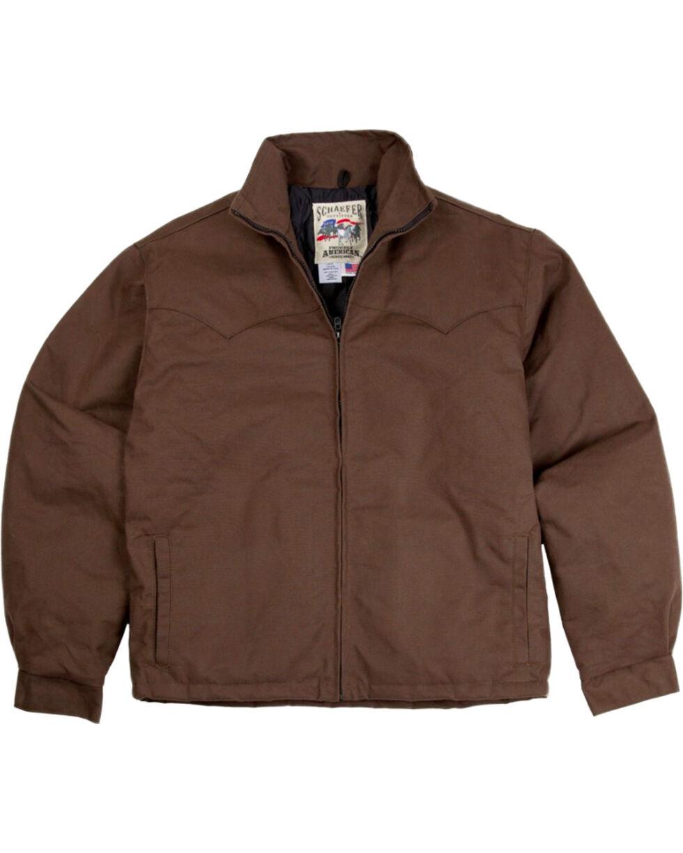 Schaefer Outfitter Fenceline Arena Jacket, Brown, hi-res