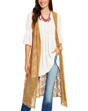 Ariat Women's Joliet Vest, Beige/khaki, hi-res