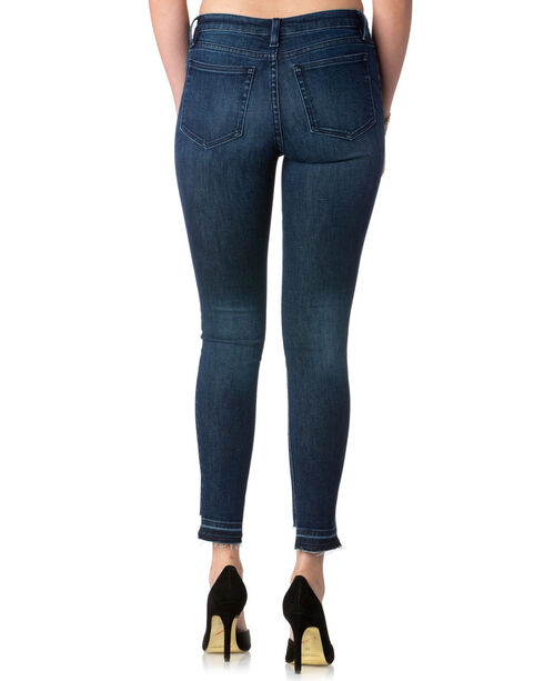 Miss Me Women's Indigo Cut It Out Jeans - Ankle Skinny , Indigo, hi-res