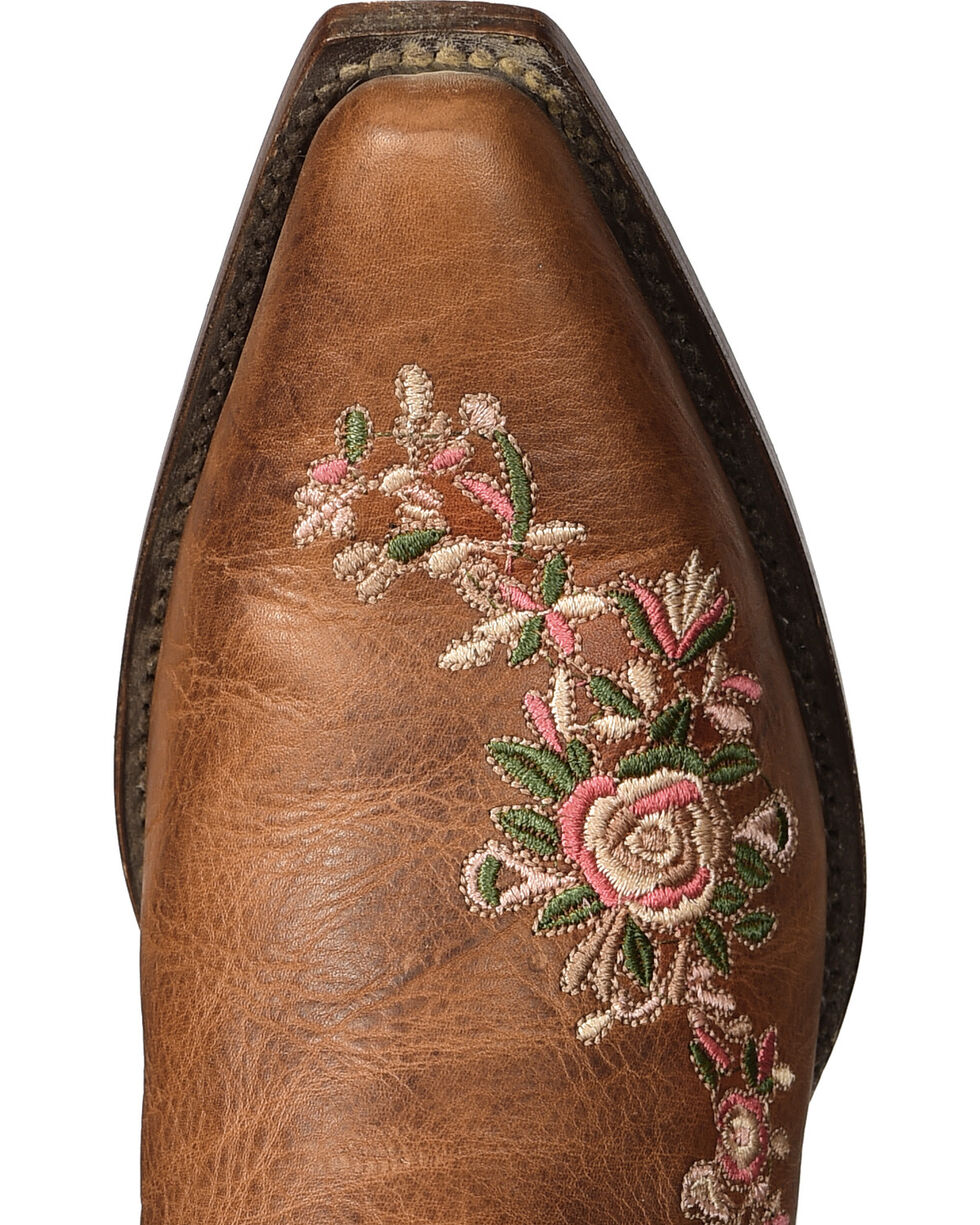 Shyanne Women's Christina Floral Embroidered Western Boots - Snip Toe, , hi-res
