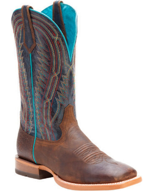 Ariat Men's Chute Boss Western Boots, Brown, hi-res