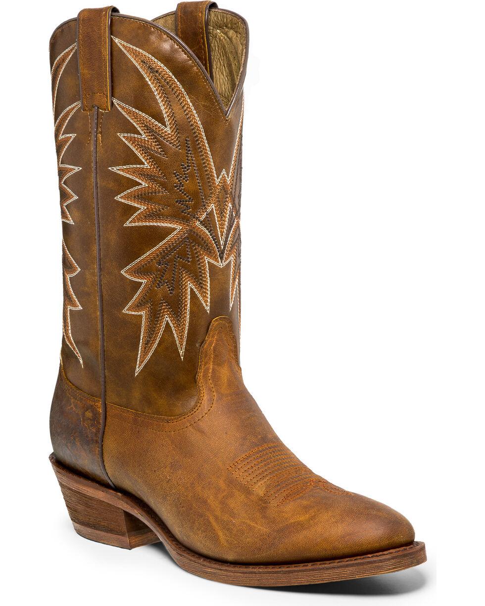 Nocona Men's Vintage Caballo Western Boots, Tan, hi-res