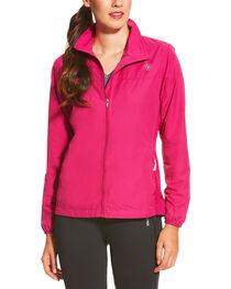 Ariat Women's Magenta Ideal Windbreaker Jacket, , hi-res
