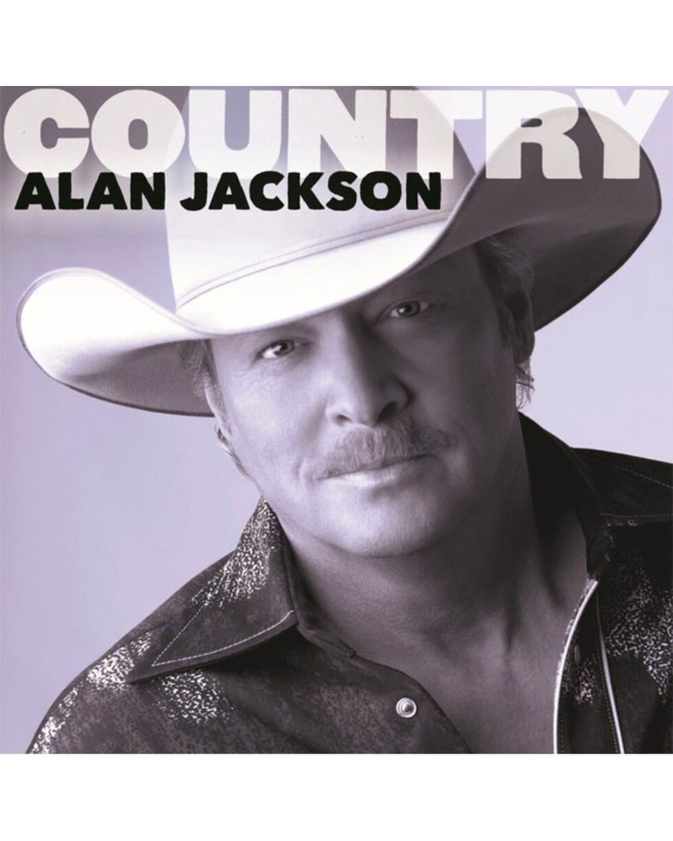 Country: Alan Jackson Music CD, No Color, hi-res