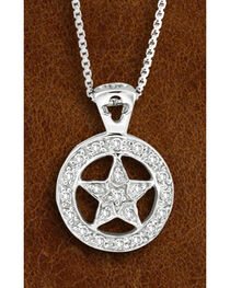 Kelly Herd Sterling Silver Western Star Necklace, , hi-res