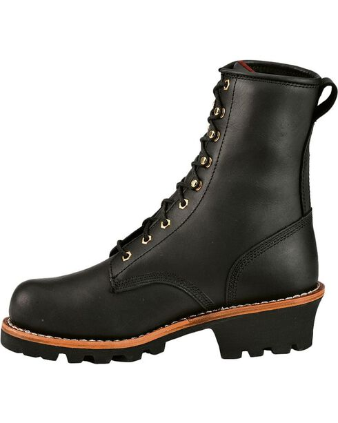 Chippewa Women's Insulated Logger Work Boots, Black, hi-res