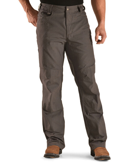 American Worker Men's Flagstone Stretch Mini-Ripstop Utility Pants - Charcoal, Charcoal, hi-res