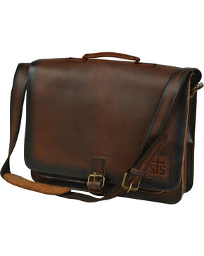 STS Ranchwear Leather Foreman Portfolio, Brown, hi-res
