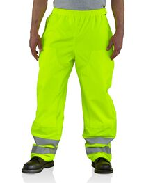 Carhartt Men's High Visibility Class 3 Work Pants, , hi-res