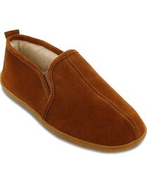 Minnetonka Men's Pile Lined Romeo Slippers, , hi-res