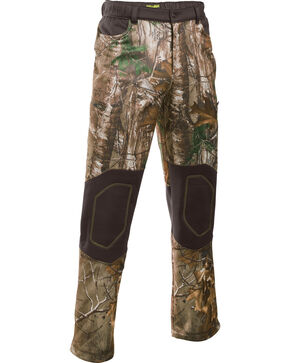 Under Armour Men's Scent Control Armour Fleece Pants, Camouflage, hi-res