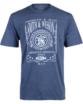 Smith & Wesson Men's Original T-Shirt, Navy, hi-res