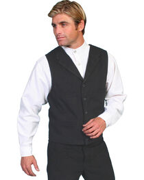 Wahmaker by Scully Brushed Cotton Vest, , hi-res
