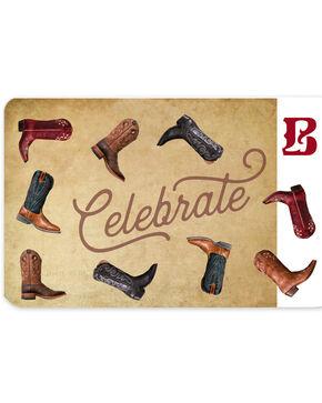 Boot Barn® Leather eGift Card, No Color, hi-res