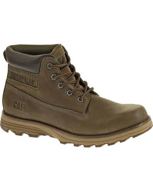 CAT Men's Founder Casual Work Boots, Mud, hi-res