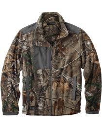 Dri Duck Men's Quest Microfleece Realtree Camo Jacket - 3X & 4X, , hi-res
