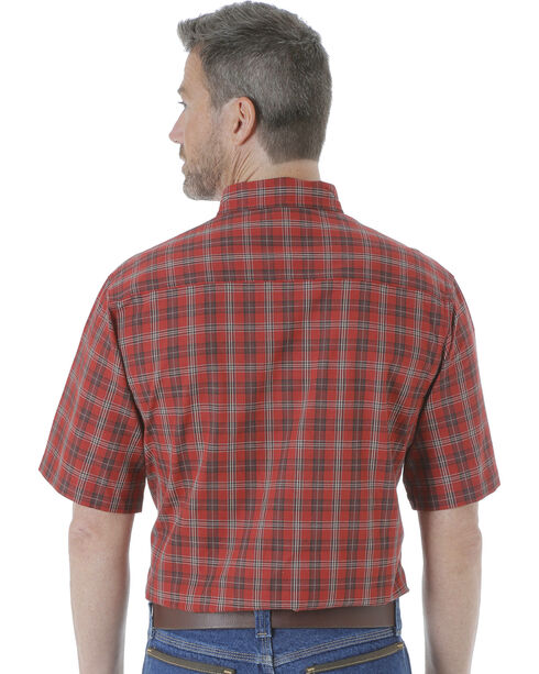 Wrangler Men's Riggs Workwear Foreman Plaid Work Shirt - Big and Tall , , hi-res