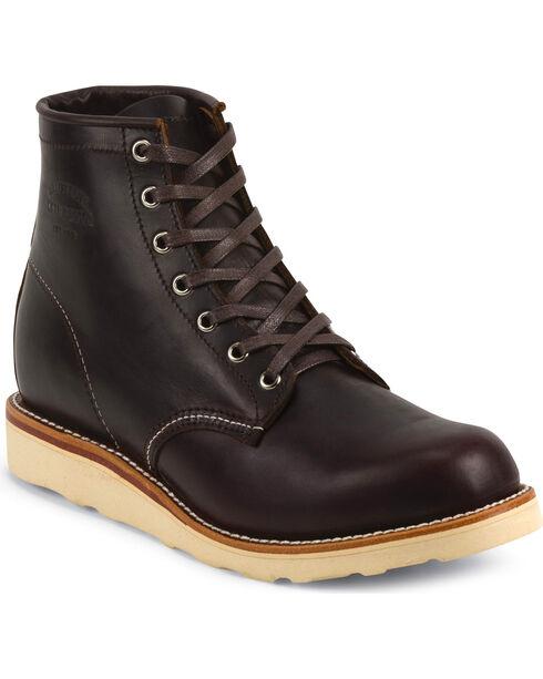 Chippewa Men's  General Utility Boots, Cognac, hi-res