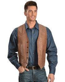 Scully Lamb Leather Vest - Big, , hi-res