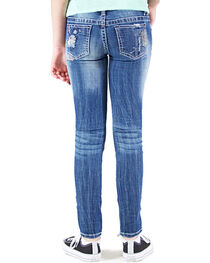 Grace in LA Girls' Embellished Skinny Jeans , , hi-res