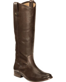 Frye Women's Melissa Button Riding Boots - Wide Calf, , hi-res