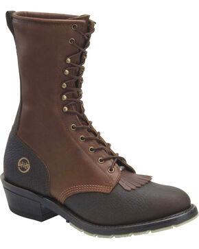 Double H Men's ICE Packer Boots, Dark Brown, hi-res