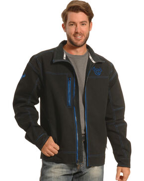 Cowboy Hardware Men's Woodsman Jacket, Black, hi-res