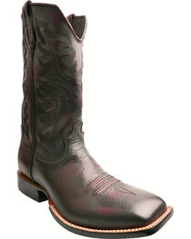 Twisted X Burgundy Red River Cowboy Boots - Square Toe, , hi-res