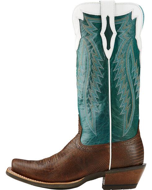 Ariat Women's Futurity Western Boots, Chocolate, hi-res
