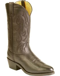 "Durango Men's 12"" Western Cowboys Boots, Black, hi-res"