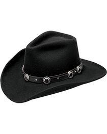 Master Hatters Men's Defiance Wool Felt Cowboy Hat, , hi-res