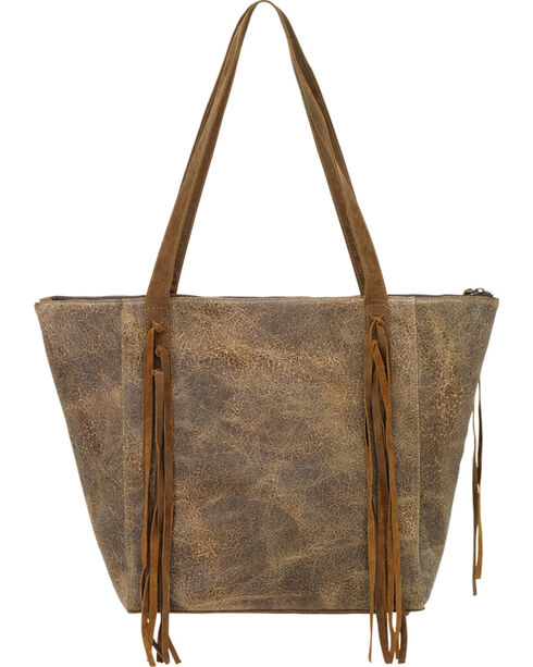 TrueLu Women's Honey Scarlett Tote , Honey, hi-res