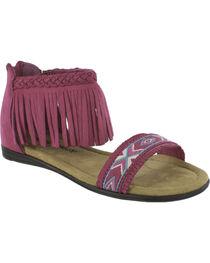 Minnetonka Girls' Coco Sandals, , hi-res