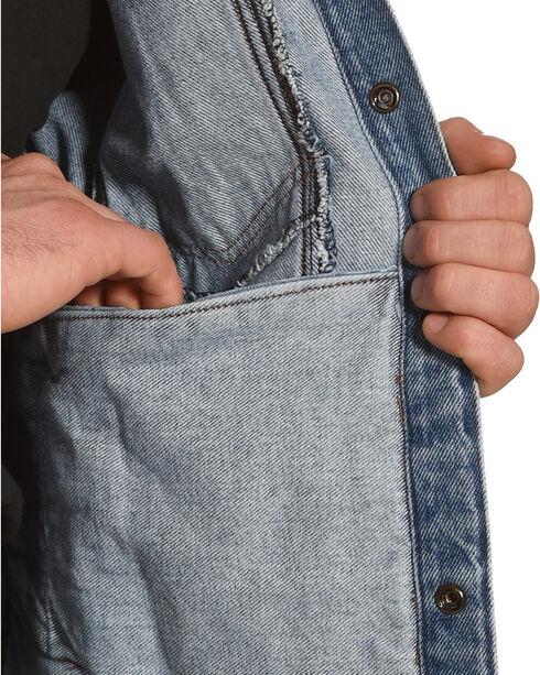 Liberty Wear Men's Indigo Sleeveless Denim Vest, Indigo, hi-res