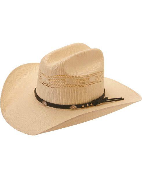 Silverado Colorado Bangora Straw Cowboy Hat, Ivory, hi-res