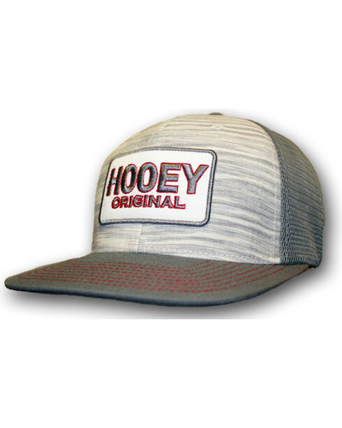 "HOOey Men's ""Original"" Ball Cap, Grey, hi-res"