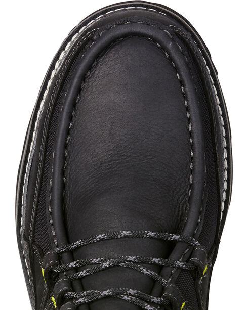 Ariat Men's Exhibitor Moc Toe Shoes, Black, hi-res