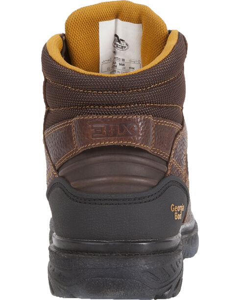 Georgia Men's Zero Drag Steel Toe Boots, Brown, hi-res